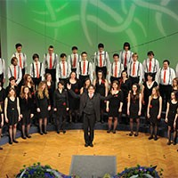 The Choir of the Conservatory of Music and Ballet Ljubljana